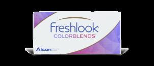 Freshlook Colorblends Gris Perle - 2 lentilles