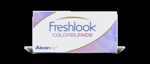 Freshlook Colorblends Vert Amande - 2 lentilles