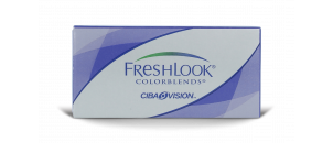 Freshlook Colorblends Bleu Passion - 2 lentilles