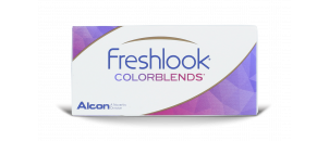 Freshlook Colorblends Caramel - 2 lentilles