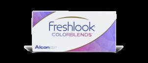 Freshlook Colorblends Bleu brillant - 2 lentilles