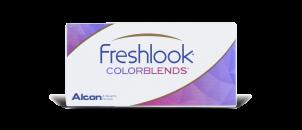 Freshlook Colorblends Gris étincelant - 2 lentilles