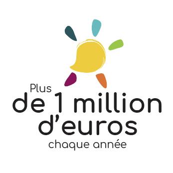Plus d'un million d'euros chaque année