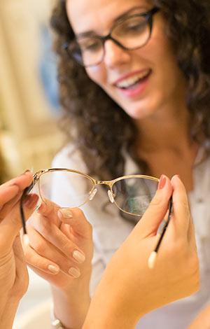 Combien coûtent des lunettes ?