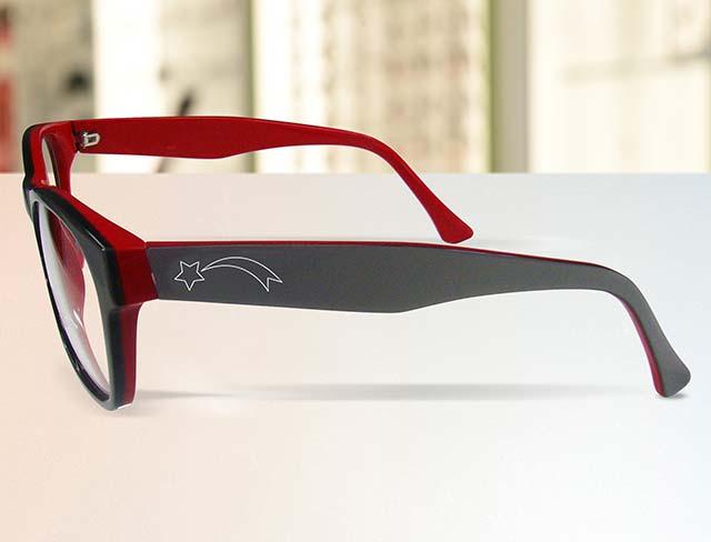 Pour un style unique, personnalisez vos lunettes